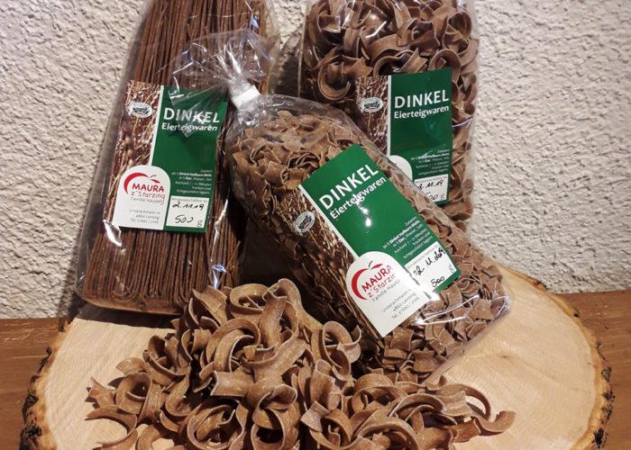 maura z'starzing familie hausjell produkte getreideprodukt dinkel